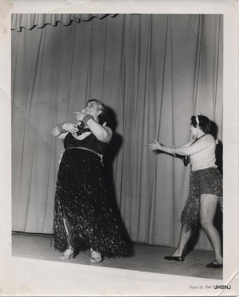The Y Parents' Smokerette from the spring of 1955. Pictured is Fanny Chessin.